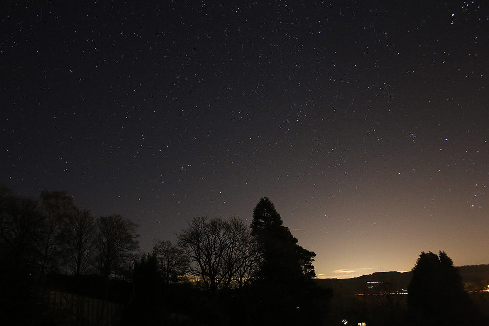 Night Sky - Haydon Bridge